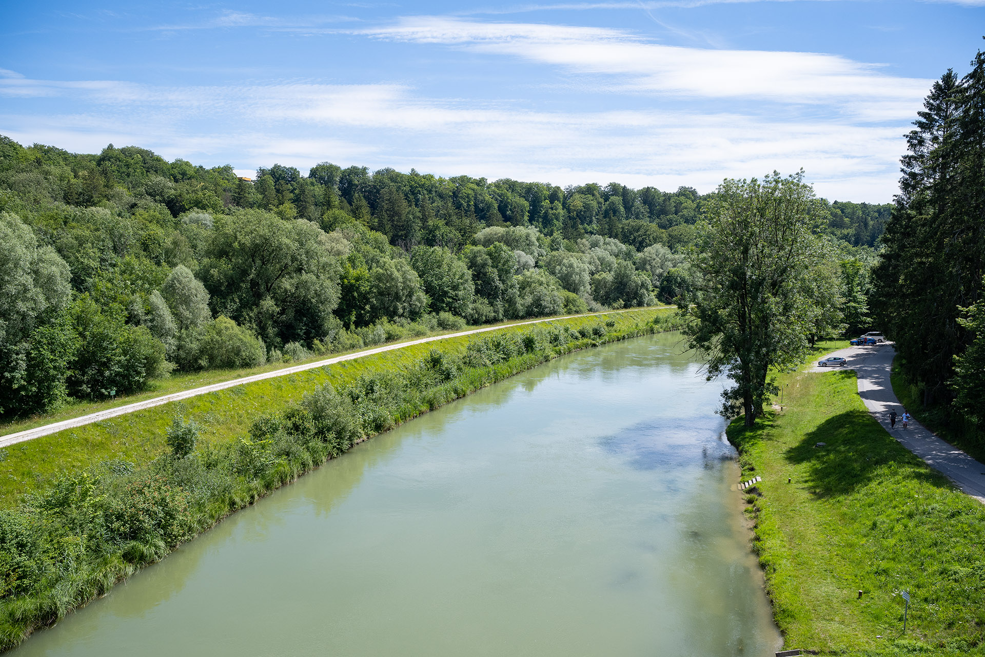 Isar in Grünwald
