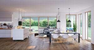 Luxusvilla Wohnzimmer